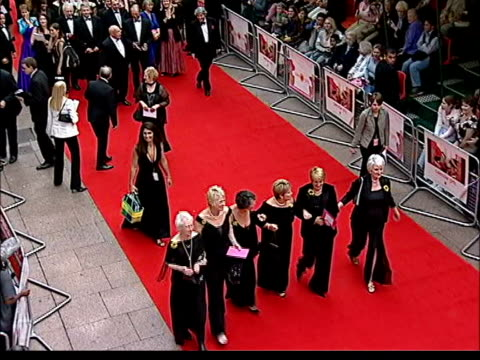 Calendar girls premiere NEWS AT TEN NINA London Leicester Square Odeon Six women along on red carpet as arriving for premiere of film 'Calendar...