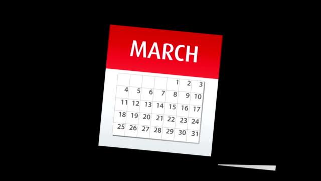 calendar - calendar stock videos & royalty-free footage