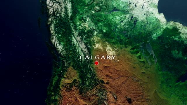 Calgary 4K  Zoom In