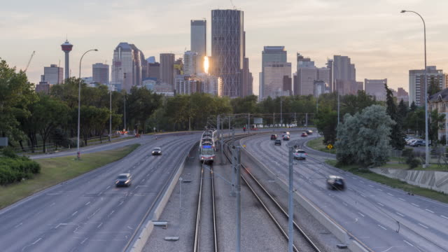 Calgary In Motion: Last Sunset Glow