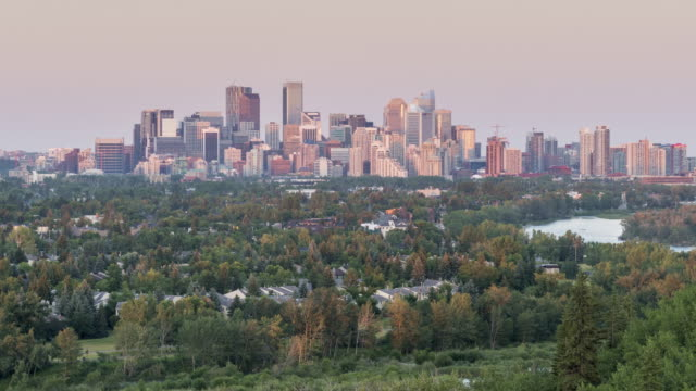 Calgary In Motion: Sunset