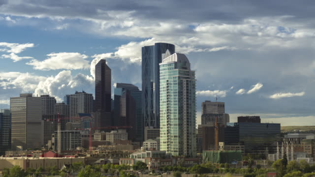 Calgary videos and b roll footage getty images calgary scotsman skyline hyperlapse rotation of the calgary downtown core ccuart Images