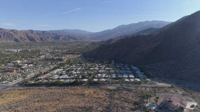 california aerial - palm springs california stock videos & royalty-free footage