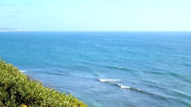 4K California beach - stock video