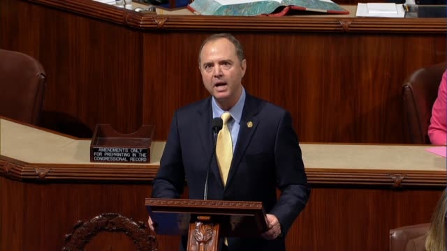 California Congressman Adam Schiff says in debate on a resolution insisting on subpoena and document request compliance from the Justice Department...