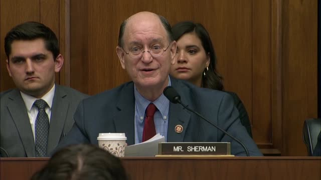 california congressman brad sherman tells facebook ceo mark zuckerberg at a house financial services committee that his bluff had been called that... - do something organization stock videos & royalty-free footage