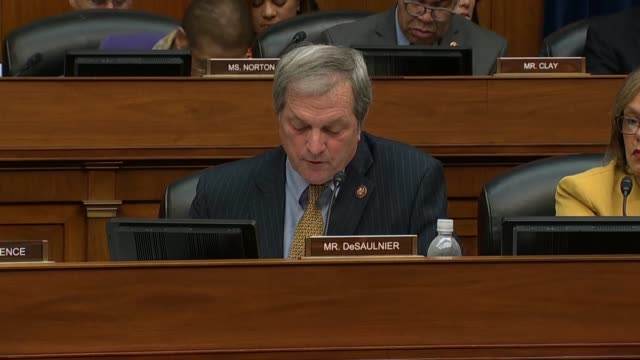 California Congressman Mark DeSaulnier asks former Donald Trump attorney Michael Cohen at a House Oversight and Reform Committee hearing about his...