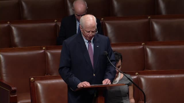 california congressman mike thompson says a week earlier 10 were killed in a santa fe texas high school that many had said the thoughts and prayers... - sandy hook elementary school stock videos & royalty-free footage