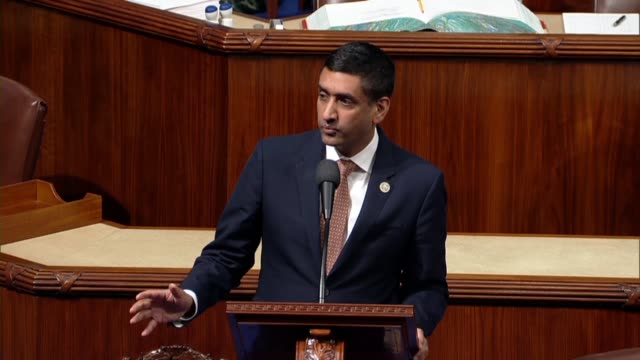 california congressman ro khanna says americans are wondering what a farm bill dealing with agriculture policy has to do with yemen, absolutely... - yemen stock videos & royalty-free footage