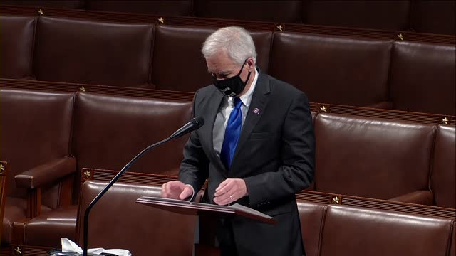 california congressman tom mcclintock says in debate on a resolution calling on vice president mike pence to use a mechanism under the 25th amendment... - flirting stock videos & royalty-free footage