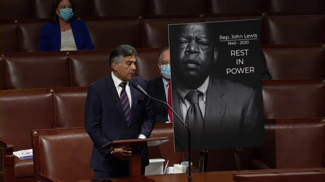 california congressman tony cardenas says during floor time for speeches in memoriam to civil rights icon john lewis that he mourned his passing with... - only girls stock videos & royalty-free footage