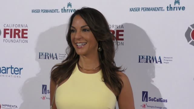 clean california fire foundation's 5th annual gala arrivals on march 28 2018 in hollywood california - eva larue stock videos and b-roll footage