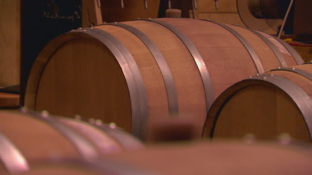 california gold  country - wine cask stock videos and b-roll footage