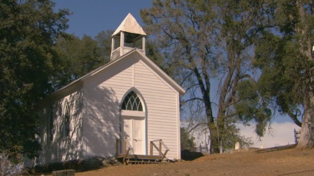 california gold  country - church stock videos & royalty-free footage