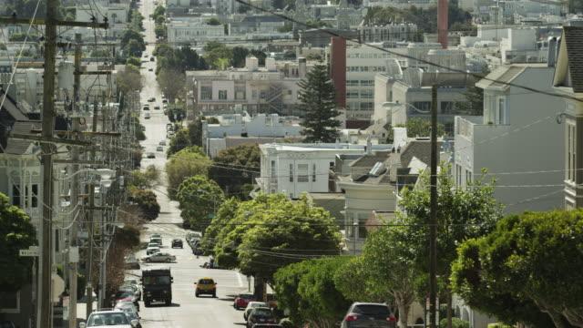USA, California, San Francisco, High angle view of traffic
