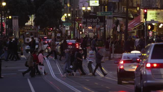 USA, California, San Francisco, Union Square, People on street