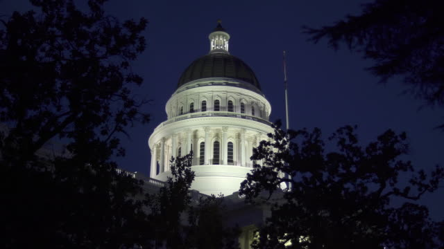 california state capitol building - 2016 stock videos and b-roll footage
