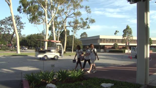 california state university long beach. - long beach california video stock e b–roll