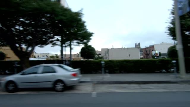 sfカリフォルニアストリートviii同期シリーズ右ビュー駆動プロセスプレート - カリフォルニアストリート点の映像素材/bロール