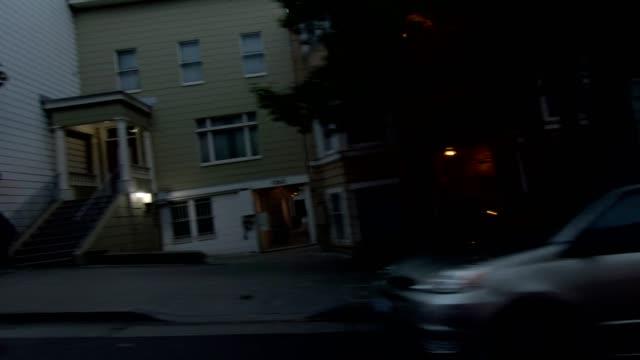 sfカリフォルニアストリートxi同期シリーズ右ビュー駆動プロセスプレート - カリフォルニアストリート点の映像素材/bロール