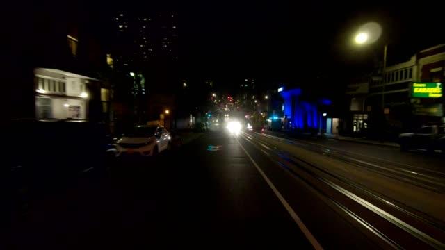 sfカリフォルニアストリートxii同期シリーズリアビュー駆動プロセスプレート - カリフォルニアストリート点の映像素材/bロール