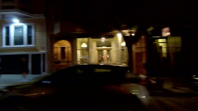 sfカリフォルニアストリートxii同期シリーズ右ビュー駆動プロセスプレート - カリフォルニアストリート点の映像素材/bロール