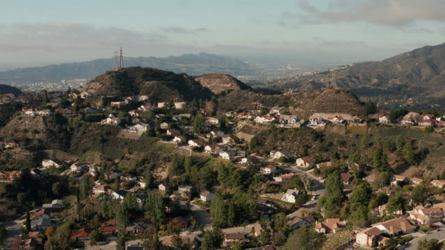 california suburban sprawl - drone shot - tract housing stock videos & royalty-free footage