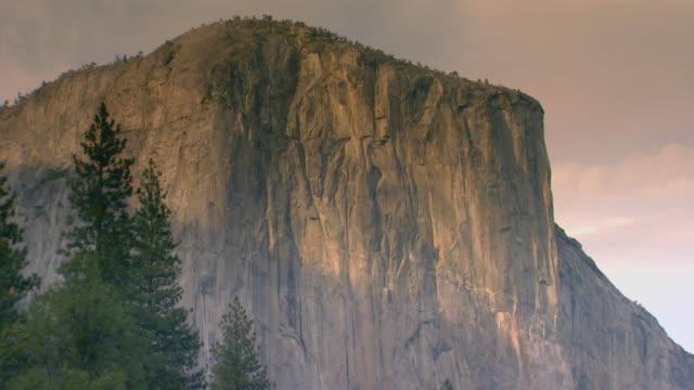 California, YosemiteMountain range and stream