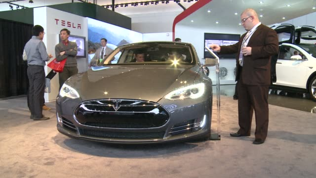 Californian automaker Tesla launches a new family sedan to attract a wider audience for its green cars CLEAN Californian automaker Tesla launches on...