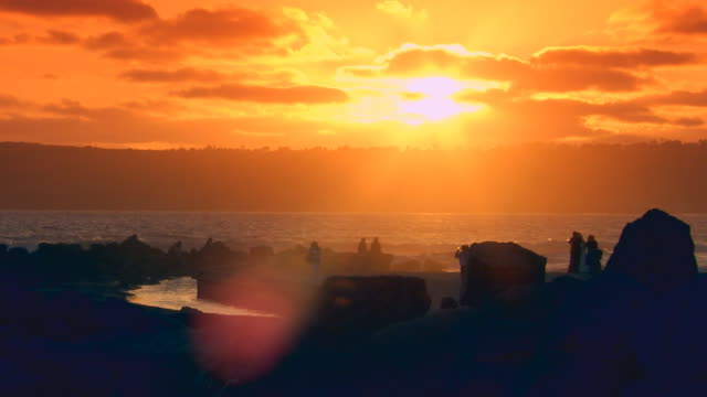 californiaocean pier during sunset - nordpazifik stock-videos und b-roll-filmmaterial