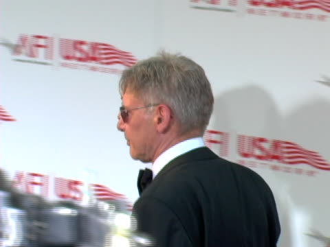 calista flockhart and harrison ford at the 33rd afi life achievement award: a tribute to george lucas at kodak theatre in hollywood, ca. - calista flockhart stock-videos und b-roll-filmmaterial