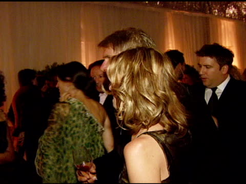 """calista flockhart and harrison ford at the the art of elysium's 10-year anniversary black tie charity gala, """"heaven"""" at the vibiana in los angeles,... - calista flockhart stock-videos und b-roll-filmmaterial"""