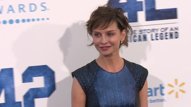 calista flockhart at 42 los angeles premiere 4/9/2013 in hollywood, ca. - calista flockhart stock-videos und b-roll-filmmaterial