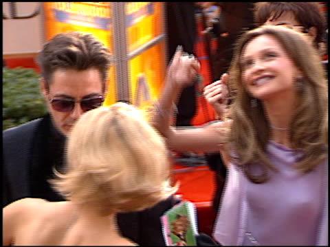 vídeos y material grabado en eventos de stock de calista flockhart at the 2001 golden globe awards at the beverly hilton in beverly hills california on january 21 2001 - calista flockhart