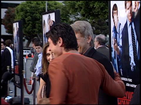 vídeos y material grabado en eventos de stock de calista flockhart at the 'hollywood homicide' premiere on june 10 2003 - calista flockhart