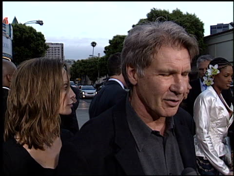 calista flockhart at the 'hollywood homicide' premiere on june 10, 2003. - calista flockhart stock-videos und b-roll-filmmaterial