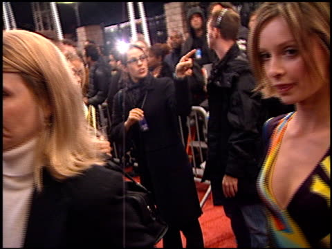 calista flockhart at the my vh1 music awards at the shrine auditorium in los angeles, california on december 2, 2001. - shrine auditorium stock videos & royalty-free footage