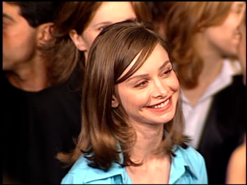 calista flockhart at the premiere of 'the birdcage' on march 5, 1996. - calista flockhart stock-videos und b-roll-filmmaterial