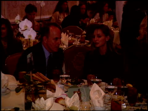 calista flockhart at the women in hollywood luncheon at the four seasons hotel in beverly hills, california on october 11, 2000. - calista flockhart stock-videos und b-roll-filmmaterial