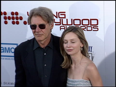 calista flockhart at the young hollywood awards at el rey theatre in hollywood, california on may 4, 2003. - calista flockhart stock-videos und b-roll-filmmaterial