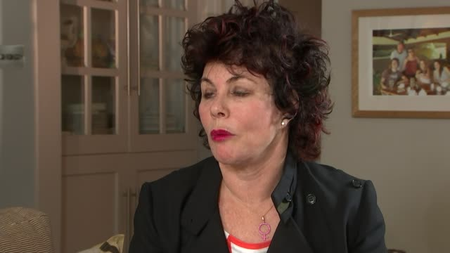 call for government to fund more mental health services england london int ruby wax interview sot - ruby wax stock-videos und b-roll-filmmaterial