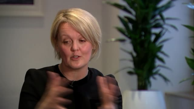 call for more financial support for startups by women england manchester int alison rose interview sot reporter and rose reporter various of rose... - jug stock videos & royalty-free footage