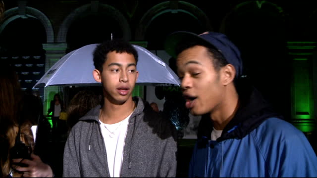 'Call of Duty Modern Warfare 3' launch in London celebrity arrivals Rizzle Kicks interview SOT On the incredible launch / everyone loves video games...