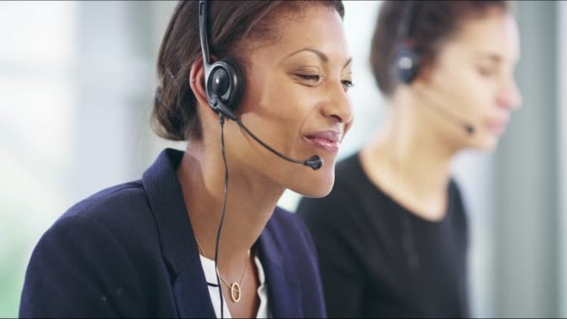 call us when you need a hand - call centre stock videos & royalty-free footage