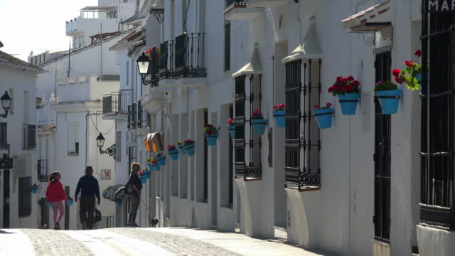 Calle Carril, white village Mijas, Costa del Sol, Andalusia
