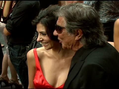 callie thorne and roberto cavalli at the cavalli ny flagship store launch at cavalli flagship store in new york new york on september 7 2007 - roberto cavalli stock videos and b-roll footage