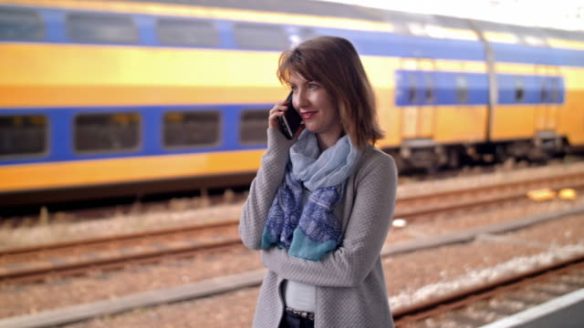 4K: Calling at train station