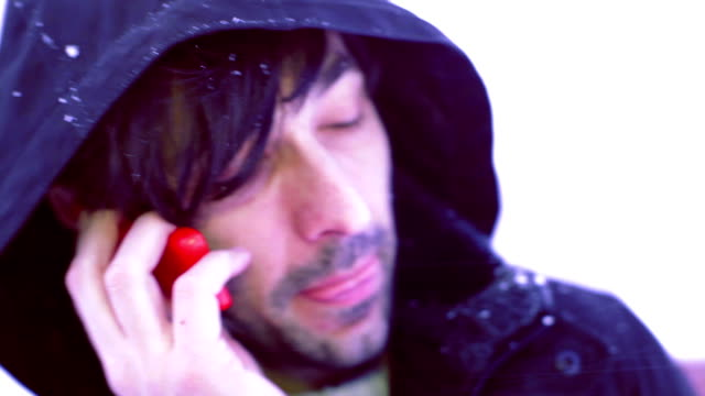 calling in snow