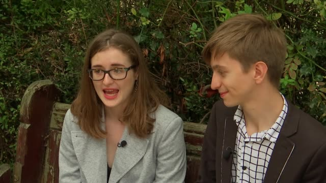calls for changes to law regarding rented property uk london tenant interviews london ext alicia powell and simon fielding chatting to reporter close... - tenant stock videos & royalty-free footage