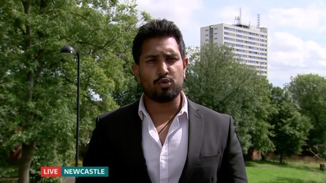 calls for child sex grooming by 'asian' gangs to be recognised as racist crime; england: london: gir: int councillor dipu ahad 2 way interview from... - gang stock videos & royalty-free footage